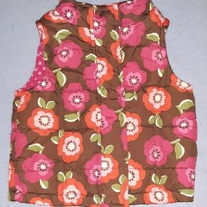 OshKosh B'gosh Jackets & Coats - 2T - OshKosh Flower Puffer Vest
